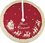 Primitives by Kathy Red Vintage Tree Skirt (52 Inch)