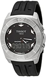 Tissot Men's T002.520.17.051.00 Black Dial Racing Touch Watch