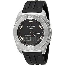 Tissot Men's T002.520.17.051.00 Black Dial Racing Touch Watch