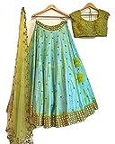 Sai creation New Anarkali Style For Party,Wedding or Festival Wear Embroidery Salwar Suit/Gown/Lengha Choli (Navratri Collection_Lehariya_Style_Navratri_Special_Garba_Chaniya,Traditional_Chaniya Choli_designer_premium)
