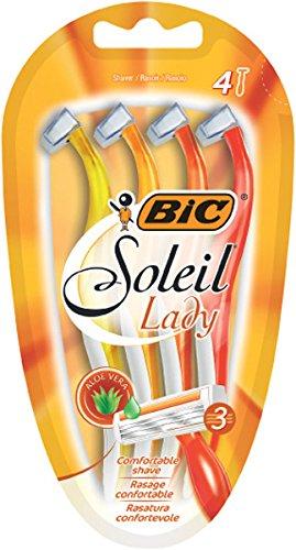 BIC Soleil Lady, Pack 4, Triple Blade Razor 828086