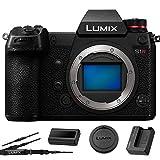 Panasonic Lumix DC-S1R Mirrorless Digital Camera (Body Only) 4K Video - 47.3MP - USA Model - Accessory Bundle