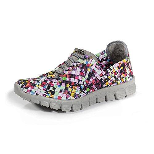 Zee Alexis Women's Danielle Sneaker, Mosaic Multi, 6