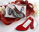 ''First Class Fashionista'' High Heel Luggage Tag - Case of 96