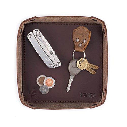 Saddleback Leather Co. Organizing Leather Valet Tray Includes 100 Year Warranty