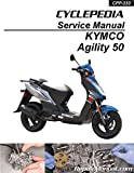 CPP-233-P Cyclepedia KYMCO Agility 50 Scooter Printed Service Manual