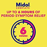 Midol Complete Menstrual Pain Relief Caplets with