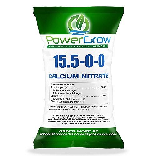 Nitrogen Nitrate Fertilizer (Calcium Nitrate 15.5-0-0 Fertilizer Bulk Pricing (5 POUNDS))