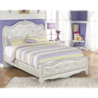 Julia Silver and Pearl Girl's Full Size Bed