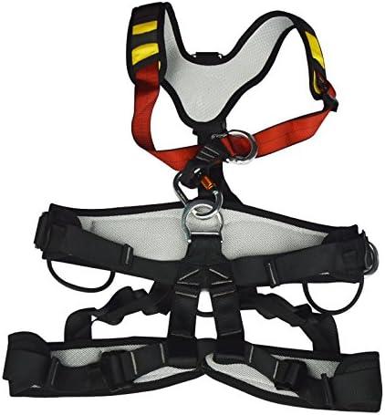 Full Body Safety Belt Tree Climbing Saddle Rock Climbing Aerial Work Harness