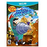 phineas and ferb quest wii - MAJESCO Phineas & Ferb: Quest for Cool Stuff Simulation Game - Wii U / 01800 /