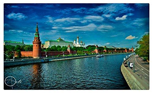 Moscú ciudades muebles & decoración imán imanes de nevera: Amazon ...