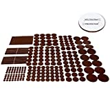 Best Chair Pads for Hardwood Floors X-PROTECTOR Premium GIANT Pack Furniture Pads 235 piece! GREAT QUANTITY of Felt Pads Furniture Feet with MANY BIG SIZES – Your Best Wood Floor Protectors. Protect Your Hardwood & Laminate Flooring!