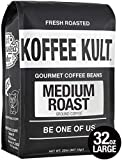 Koffee Kult Medium Roast Ground Coffee, 32oz