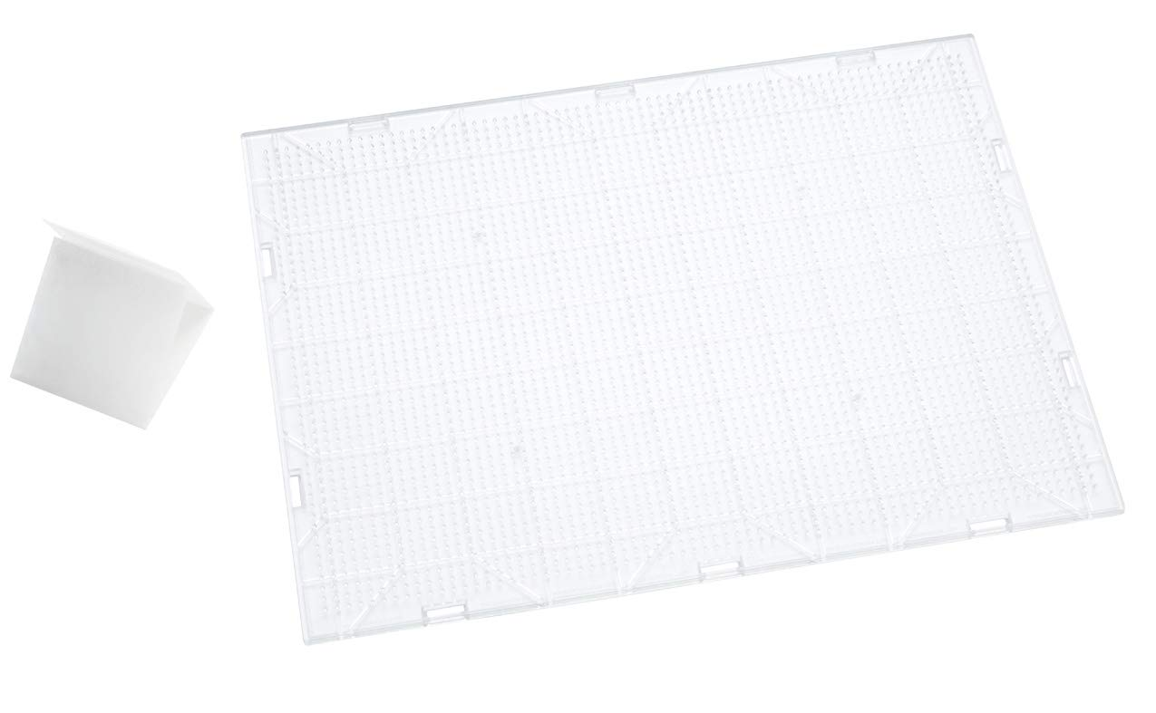 Perler Beads Extra Large Clear Pegboard by Perler