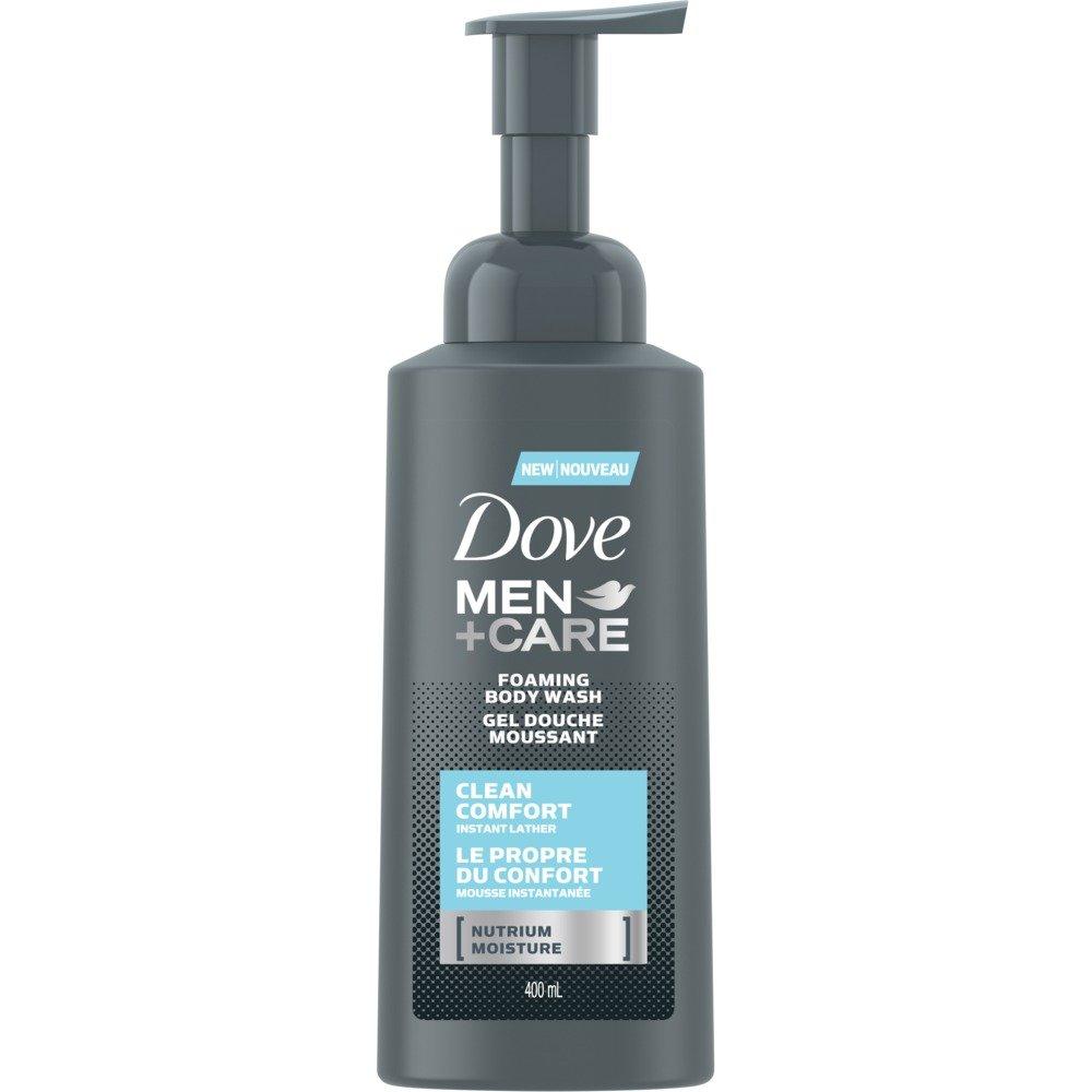 Dove Men +Care clean comfort foaming body wash 400 ml Unilever