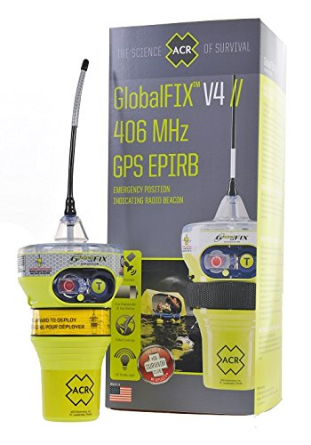 ACR GlobalFix V4 Cat 2 EPIRB (Manual) - Programmed for US Registration