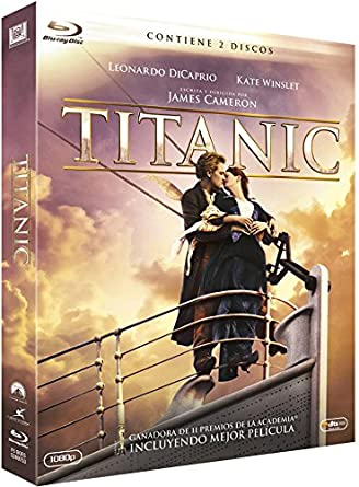 Titanic Blu Ray 2 Discos Blu Ray Amazon Es Leonardo Dicaprio Kate Winslet Billy Zane James Cameron Leonardo Dicaprio Kate Winslet James Cameron Cine Y Series Tv