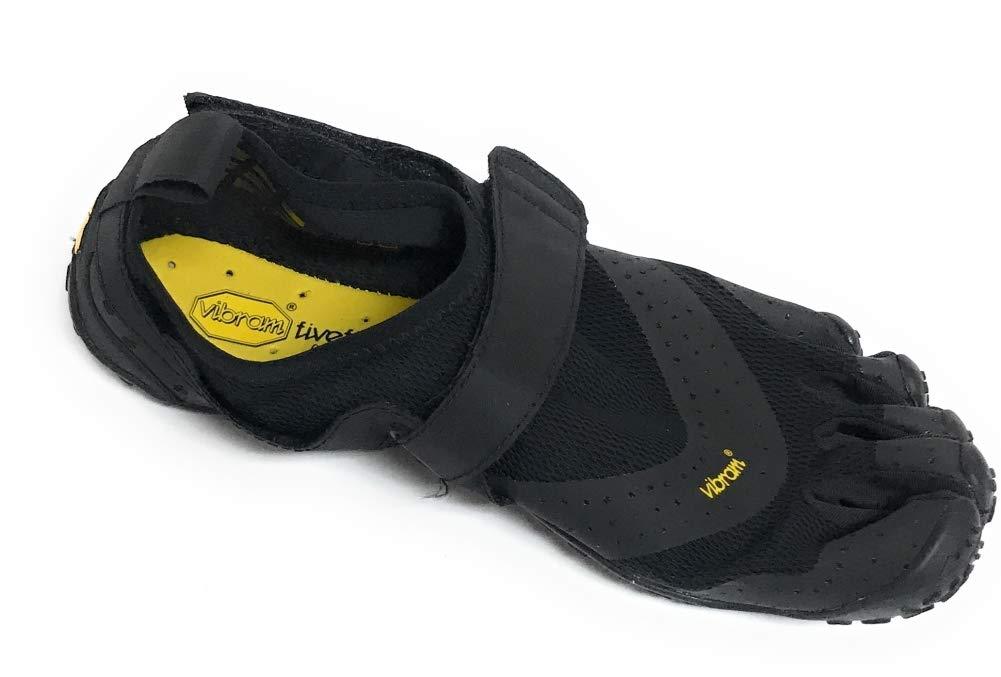 Vibram Men's V-Aqua Black Walking Shoe, 40 EU/8.0-8.5 M US D EU (40 EU/8.0-8.5 US US)