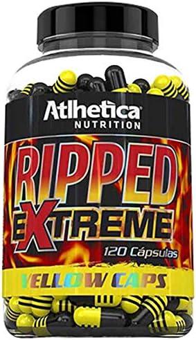 Termogenico Ripped Extreme Yellow Caps (120 Caps) por Atlhetica