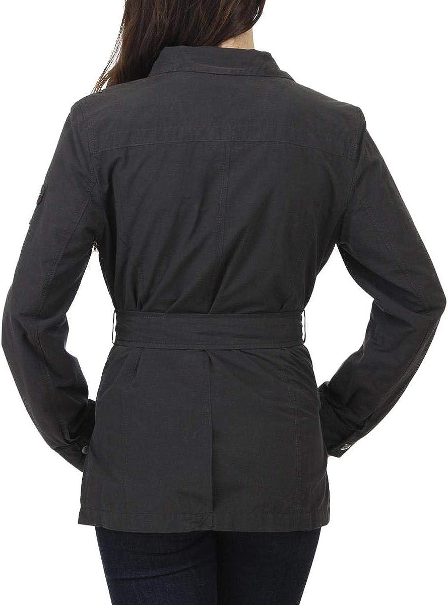 Buffalo David Bitton Women\'s Studded Twill Tie Waist Utility Jacket 515o2i-rXyL
