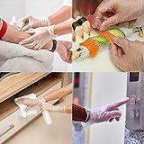 Disposable Medical Clear Vinyl Exam Gloves