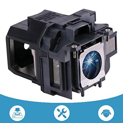 OMAIC Projector Lamp Bulb for Epson ELPLP78 V13H010L78 Home Cinema PowerLite 2030 2000 730HD 725HD 600 EX7230 EX7235 EX5220 VS230 VS330 VS335W EX3220 EX6220 EX7220 Replacement Projector Lamp/Bulb