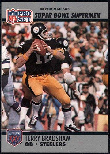 - Football NFL 1990-91 Pro Set Super Bowl 160 #32 Terry Bradshaw NM-MT Steelers