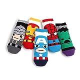 Marvel Original Avengers Lowcut Socks (5-PACK) CK, One Size Fits All: Women's 6-8.5