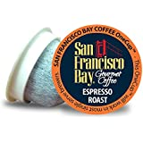 SAN FRANCISCO BAY ESPRESSO ROAST 24 ONE CUPS for Keurig K-Cup Brewers