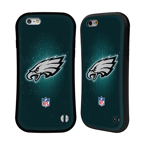 Official NFL LED 2017/18 Philadelphia Eagles Hybrid Case for Apple iPhone 6 / 6s