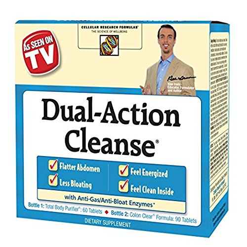 Applied Nutrition Dual Action Cleanse, 2Pack 150 Count Each