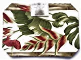 Hawaiian Heliconia Place Mats (Set of 4)