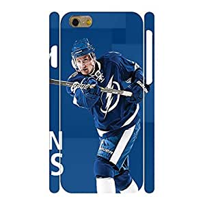 Awesome Hard Hipster Phone Accessories Print Hockey Player Action Pattern Skin for Iphone 6 Case - 4.7 Inch wangjiang maoyi