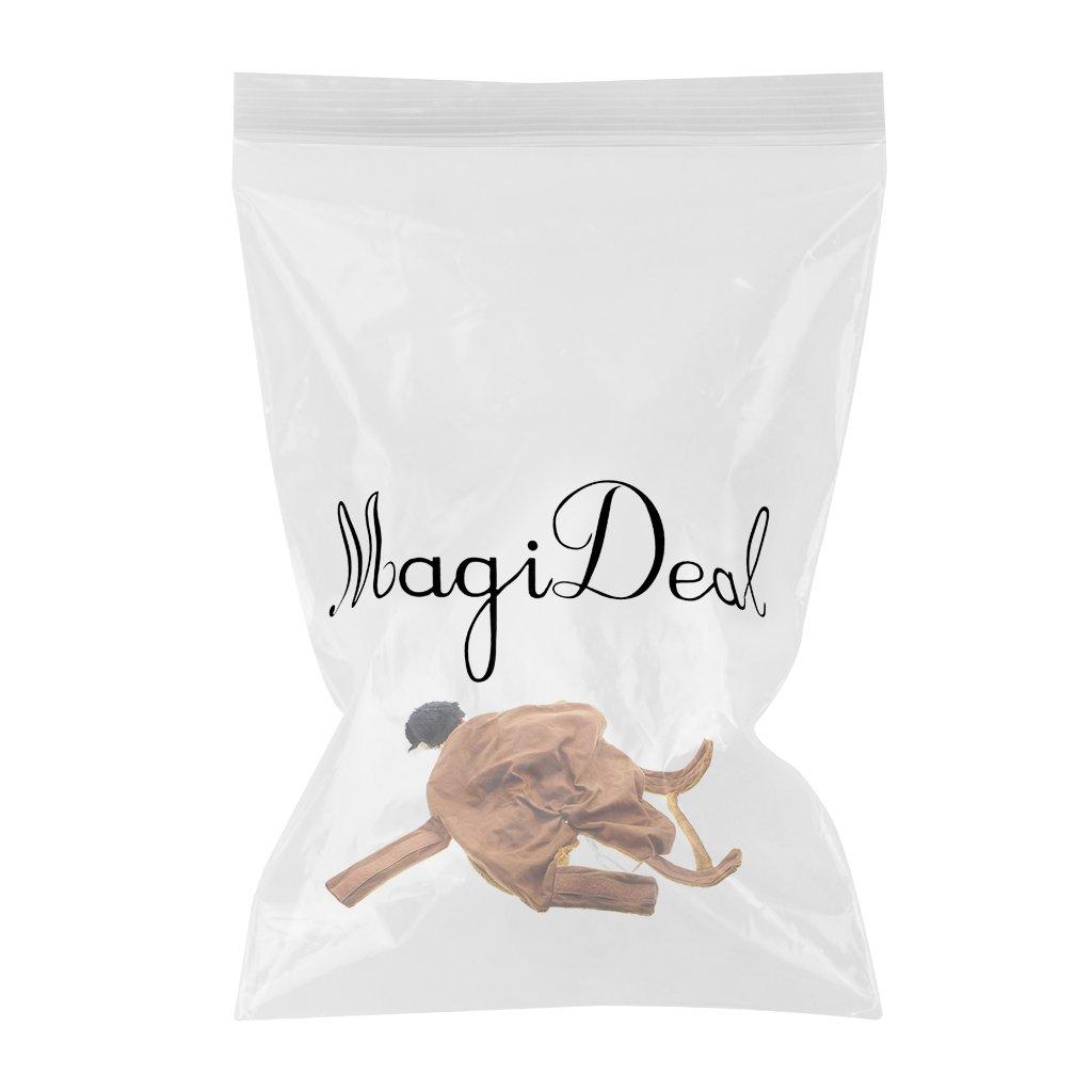 MagiDeal Vestido de Perro Traje Cosplay en Forma de Caballero Occidental de Vaquero Traje de Lujo Lindo de Animal Dom/éstico 4 Tama/ños L