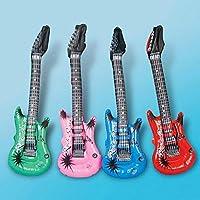 Guitarra inflable de colores surtidos para fiestas de niños ...