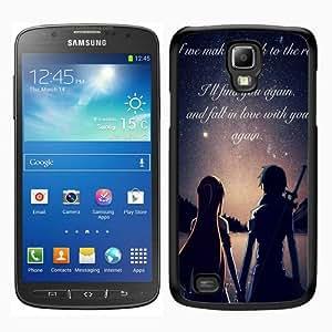 Recommended Design Phone Case Sword Art Online Black Best Popular Sale Samsung Galaxy S4 Active Case