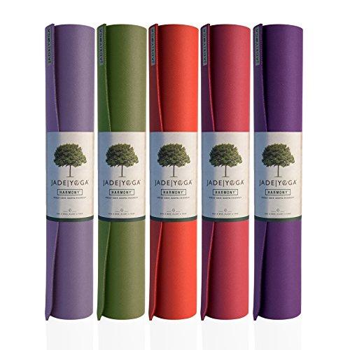 JadeYoga Tapis de yoga Harmony Professional, couleur mate