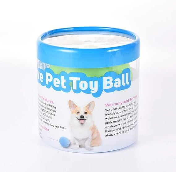 Wicked Ball Pet Toy USB Meneo Electrónico Bamboleo Bola Loca Bola ...