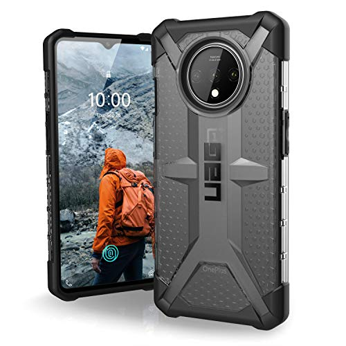 URBAN ARMOR GEAR UAG Designed for OnePlus 7T [6.55-inch screen] Plasma Feather-Light Rugged [Ash] Military Drop Tested Phone Case