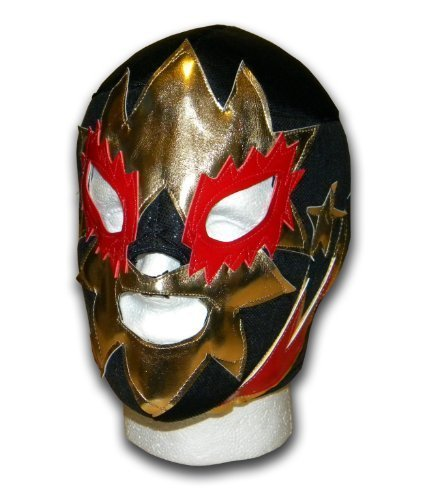Solar Adult size Mexican Lucha libre Wrestling mask by Luchadora by Luchadora