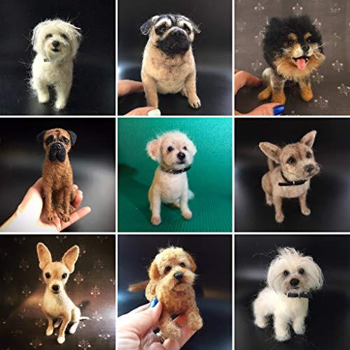 Mini Needle Felted Custom Dog ()