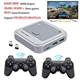SASKATE 128G Wireless Game Console,Built-in Classic