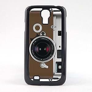 Case Fun Case Fun Brown Camera Snap-on Hard Back Case Cover for Samsun Galaxy S4 Mini (I9190)