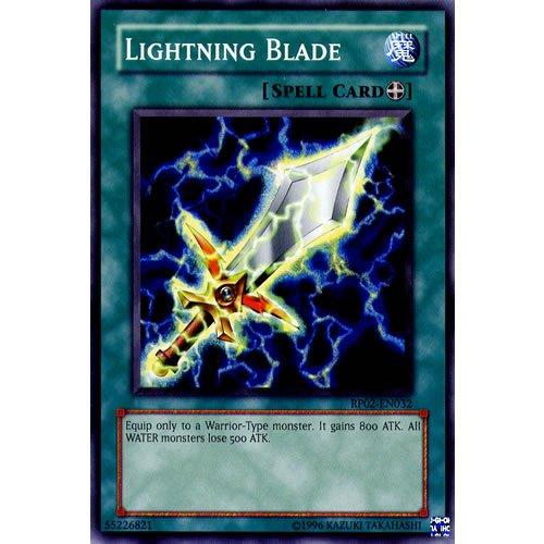 YuGiOh : RP02-EN032 Unlimited Ed Lightning Blade Common Card - ( Retro Pack...