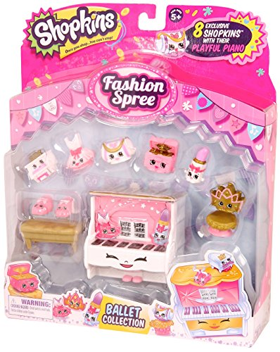 Shopkins S3 Ballet Collection Fashion Pack