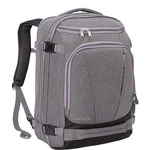 """eBags TLS Mother Lode Weekender Junior 19"""" Carry-On Travel Backpack - Fits Up to 17.5"""" Laptop - (Heathered Graphite)"""