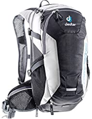 Deuter Compact Exp 12 Backpack, Black/White, 19X9.4X7.1