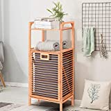 Giantex Laundry Hamper Bamboo Freestanding