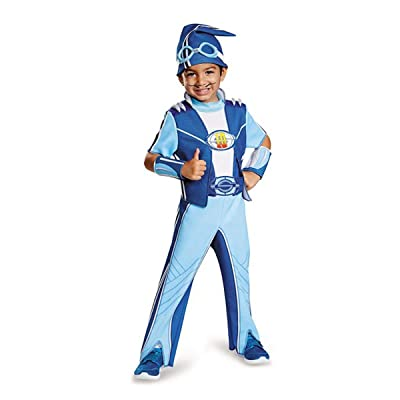 Kid's Deluxe Lazy Town Sportacus Costume (Size: Small 4-6): Toys & Games